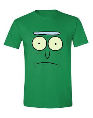 ग्रीन में पुरुषों के लिए रिक और मोर्टी टी-शर्ट