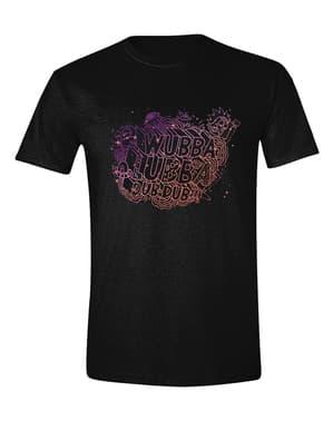 पुरुषों के लिए रिक और मोर्टी वुब्बा लुब्बा टी-शर्ट