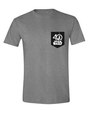 पुरुषों के लिए स्टार वार्स 40 वीं वर्षगांठ टी-शर्ट