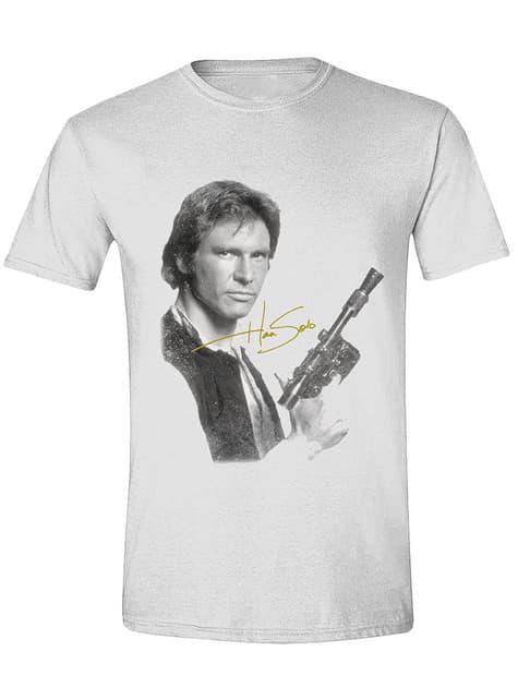 Camiseta de Han Solo blanca para hombre - Star Wars