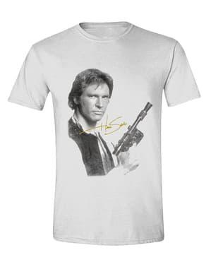 Han Solo Erkek Tişört, Beyaz - Star Wars