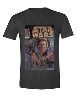 Erkekler için Star Wars Poster Tişört