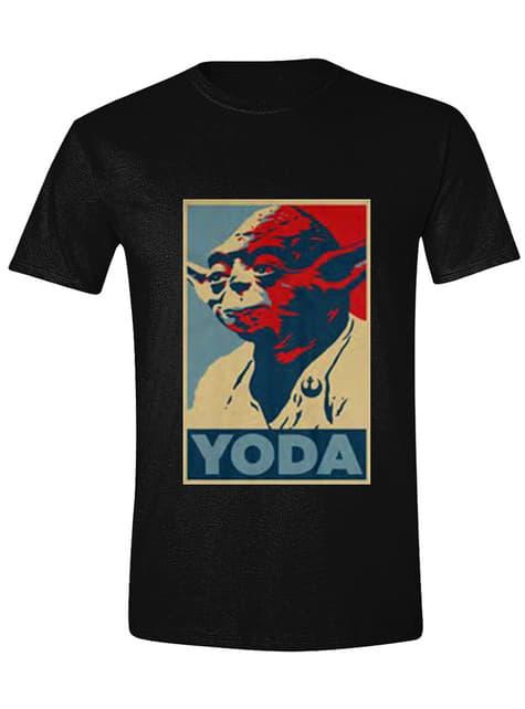 T-shirt Yoda para homem - Star Wars