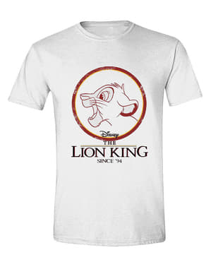 T-shirt  de Simba para homem - O Rei Leão