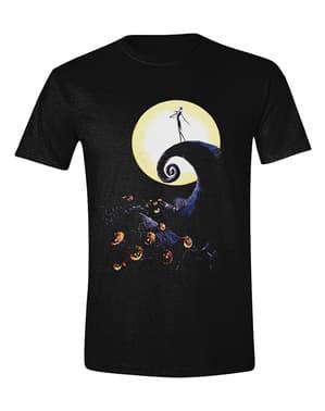 Koszulka Miasteczko Halloween dla mężczyzn - Disney