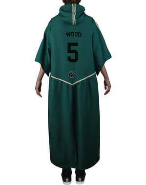 Robe Harry Potter Slytherin Quidditch för barn (officiell replika Collectors)