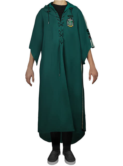 Túnica de Quidditch Slytherin infantil (Réplica oficial Collectors) - Harry Potter