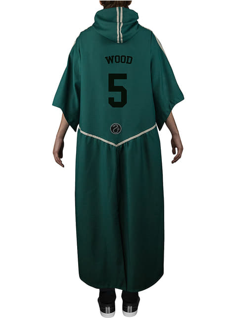 Quidditch Slytherin Robe fyrir fullorðna - Harry Potter