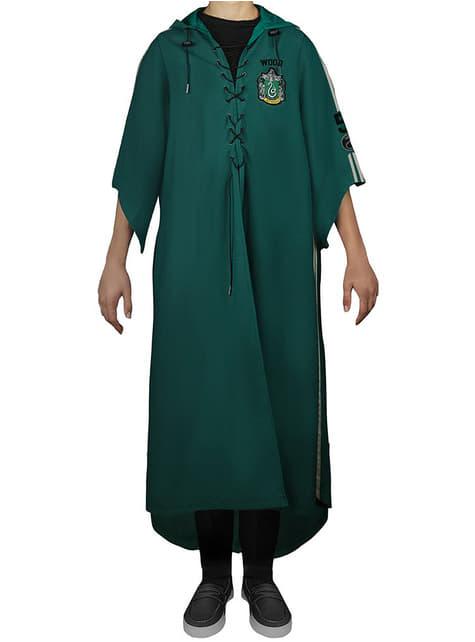 Túnica de Quidditch Slytherin para adulto (Réplica oficial Collectors) - Harry Potter