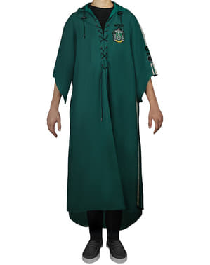 Robe Harry Potter Slytherin Quidditch för vuxen (officiell replika Collectors)