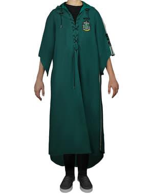 Rumpeldunk Slytherin tunika til voksne (Offisiell Samleversjon) - Harry Potter