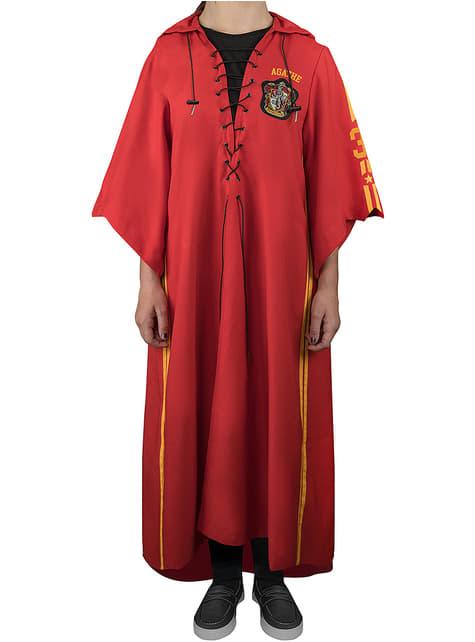 Quidditch Gryffindor Robe fyrir fullorðna - Harry Potter