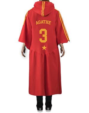Robe Harry Potter Gryffindor Quidditch för vuxen (officiell replika Collectors)