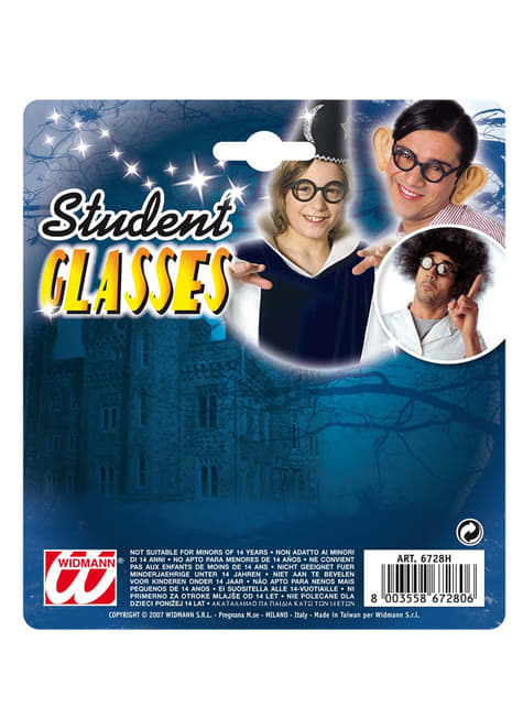 Óculos de estudante
