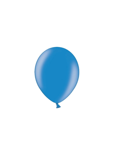 100 Luftballons blau (25 cm)