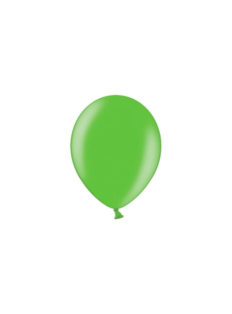100 Luftballons hellgrün (25 cm)
