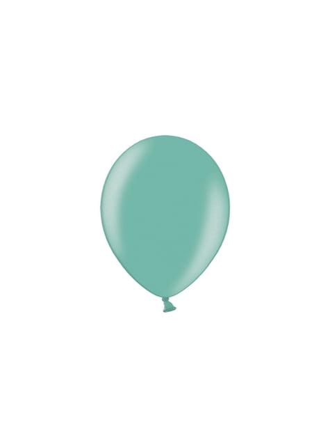100 Luftballons pastellminzgrün (25 cm)