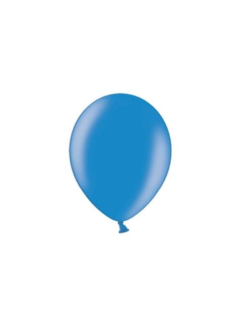 100 balónků v modré barvě, 29 cm