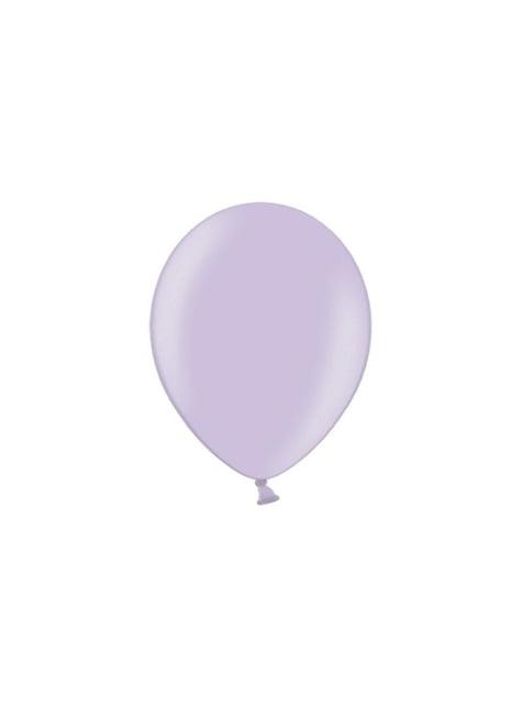 100 balónků v šeříkové barvě, 29 cm