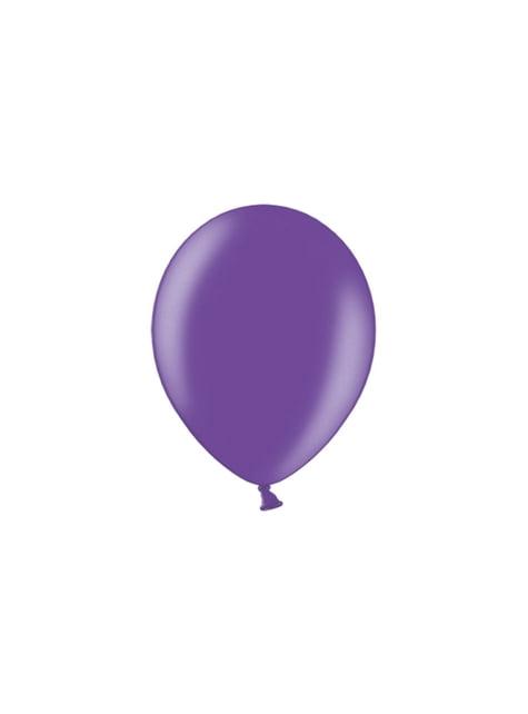100 ballonnen in lichtgrijs, 29 cm