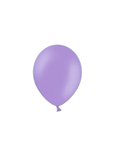100 balónků ve fialkové barvě, 29 cm