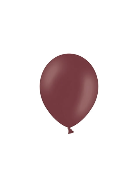 100 globos color granate (29 cm)