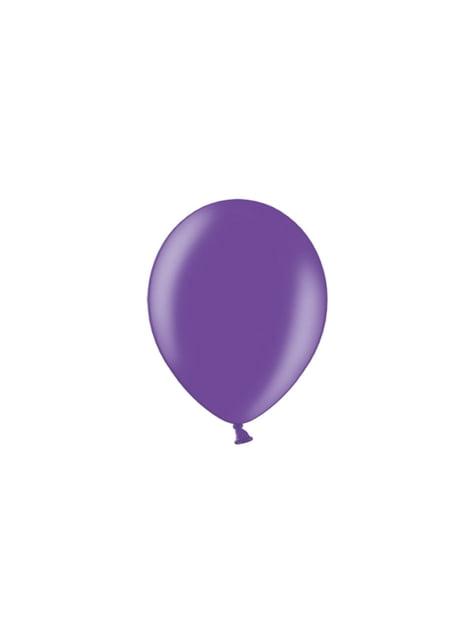 100 globos color morado claro (23 cm)