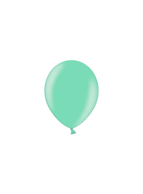 100 Palloncini di 25 cm blu-verde - Celebration