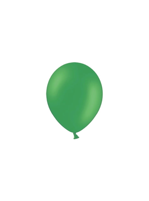 100 balónků ve smaragdové barvě, 23 cm