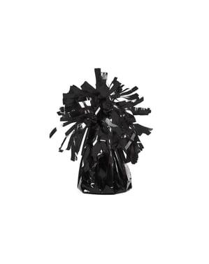 Czarny obciążnik do balonów