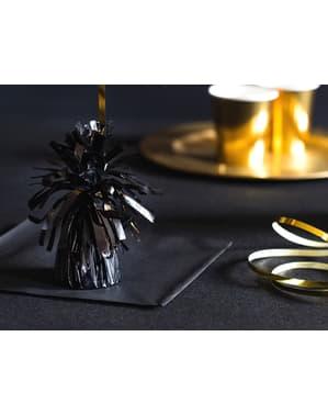 Peso para balões de cor preto