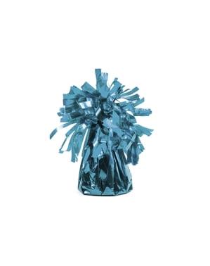 Peso para balões de cor azul céu