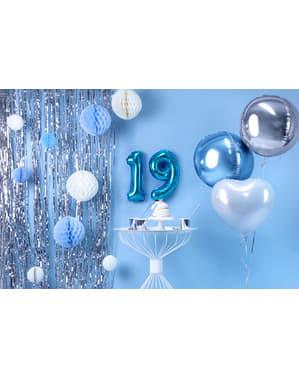 Ballon aluminium chiffre