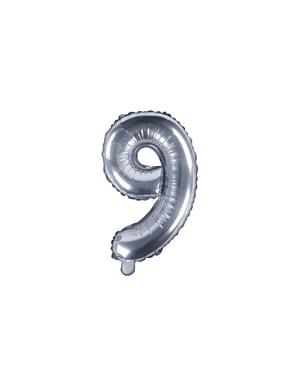 Foliový balonek stříbrný
