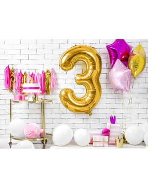 Folieballong nummer