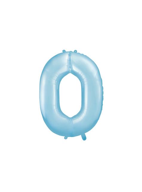 Balão foil número