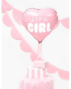 Folija balon u obliku srca