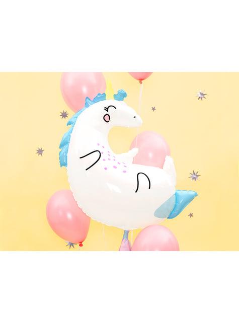 Ballon aluminium licorne (70x75cm) - Unicorn Collection