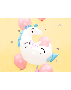 Folienballon in Einhornform (70x75 cm) - Unicorn Collection