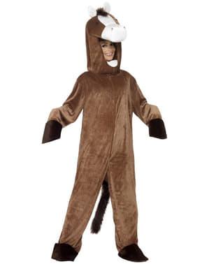 Paard deluxe Kostuum voor mannen