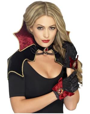 Vampir Kostüm Set fever für Damen