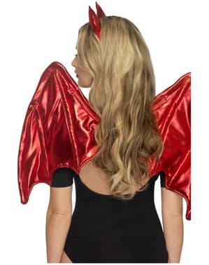 Accessoire set duivel voor vrouw