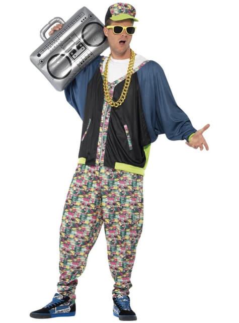 Disfraz de hip hop años 80 para hombre