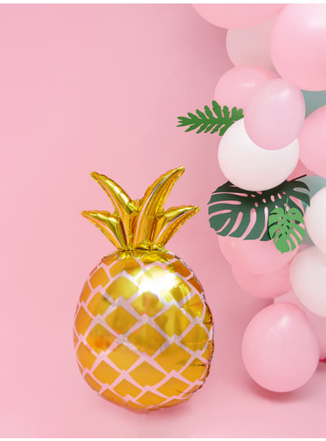 Globo de foil piña dorada - Aloha Turquoise - barato