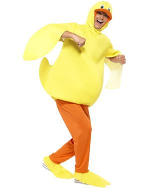 Грайливий костюм качки для людини