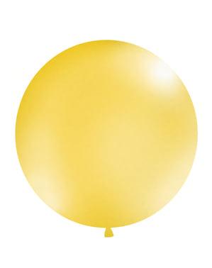 Giant balloon in metallic gold