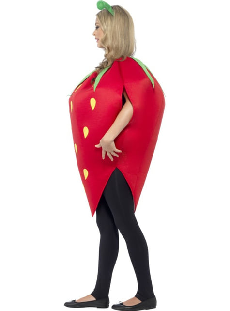 Beautiful strawberry costume for a woman