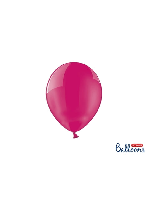100 Palloncini super resistenti di 23 cm rosa