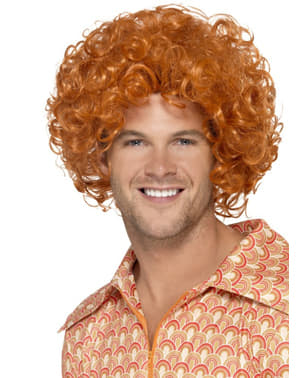 Redhead afro stylish wig for a man