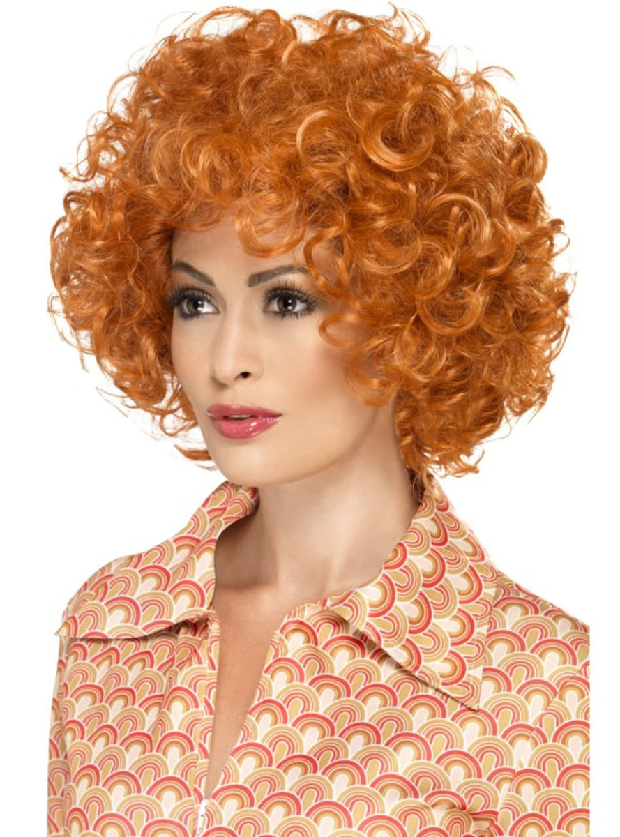 Redhead Afro Stylish Wig For A Man Express Delivery